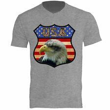Tee shirt Homme Gris Usa