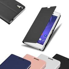 Handy Hülle für Sony Xperia T3 Cover Case Tasche Etui Matt Metallic