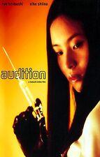 AUDITION Movie Poster Takashi Miike Horror Japanese