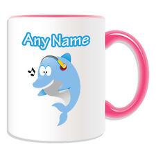 Cadeau personnalisé musique dauphin mug tirelire tasse animal insecte design thème mer