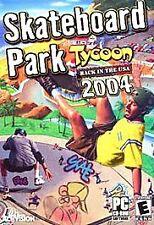 Skateboard Park Tycoon: Back in the USA 2004 - PC, Good Windows XP, Windows Me,
