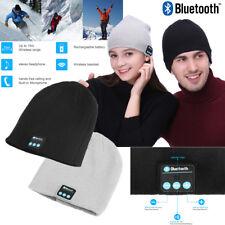 Winter Warm Wireless Bluetooth Beanie Hat Cap Headset Headphone Speake