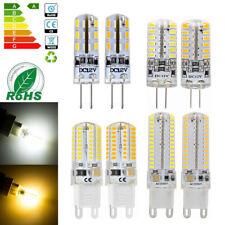 G4 G9 3W 5W 6W 10W Silicone Crystal LED Corn Bulb 3014 SMD Light Lamp 12V 220V