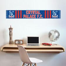Crystal PALACE FOOTBALL CLUB BAR Sciarpa Adesivo Muro Camera da letto di calcio