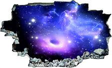 Planet Weltall Weltraum 3D Look Wandtattoo Wandsticker Aufkleber Sticker C0218