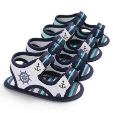 Arrival Newborn Baby Boy Anchor Crib Shoes Infant Summer Sandals 0-6 6-12 12-18M