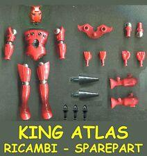 KING ATLAS Pezzi di Ricambio e Accessori Spare Part Piece Micronauti Micronauts
