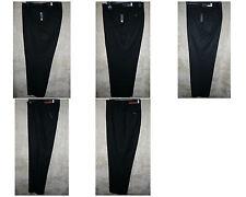 NWT APT 9 Flat front Dress pants 4 pocket zipper Black Polyester Rayon Viscose