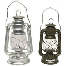 MIL-TEC Sturmlaterne zink oder oliv, Petroleumlampe Öl Lampe Camping Laterne