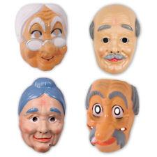 Maske Großmutter Großvater Oma Opa Maske wählbar Karnevalsmaske Alter Greis