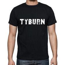 tyburn Tshirt, Homme Tshirt Noir, Mens Tshirt black, Cadeau, Gift