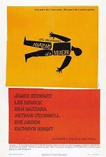 ANATOMIA di un omicidio 1959 Retrò Movie Poster A0-A1-A2-A3-A4-A5-A6-MAXI 242