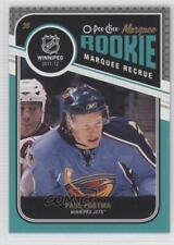2011-12 O-Pee-Chee #595 Paul Postma Atlanta Thrashers RC Rookie Hockey Card