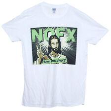 NOFX T Shirt nunca la confianza un hippy Hardcore Punk Rock Band Gráfico Camiseta Unisex