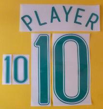 Set Flock Nameset home Trikot jersey shirt Brasilien Brasil Brazil 2006