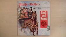 JINGLE BELLS Peter Pan Book & Record 45 RPM 1977
