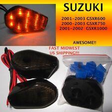 SUZUKI 01-02 GSXR 1000 01-03 GSXR 600 00-03 750 SMOKE FLUSH TURN SIGNALS TS-03S