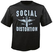 SOCIAL DISTORTION - Winged Wheel - T-Shirt