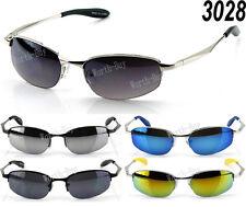 New Mens Retro Vintage Old School Metal Small Revo Mirrored 80 Sunglasses Shades