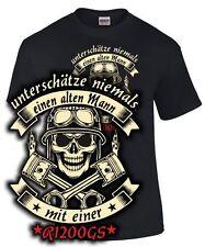 Biker T-Shirt R 1200 GS ALTER MANN MOTORRAD Tuning Treffen bmw Spruch FUN SATIRE