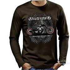 Camiseta Motivo Bobber HARLEY MOTO MOTO CHOPPERS ROCKER 4219-ls BR