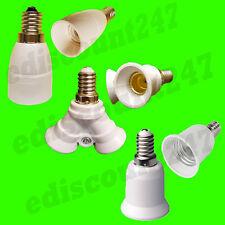 E14 to E14/E14 2x E27 Adattatore Convertitore Custodia LED VENDITORE UK