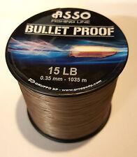 ASSO BULLET PROOF Fishing Line Ultimate Abrasion Resitance - 4oz Spool