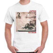 Japan Sylvian Tin Drum Pop Retro T Shirt 306