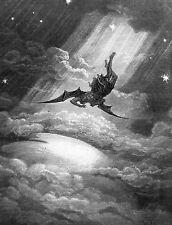 "Milton - Paradise Lost - ""Satan Falls"" by Gustave Doré"