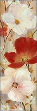 Nan: Delicate Scent II bastidor de cuña - Imagen Lienzo Flores flores rojo