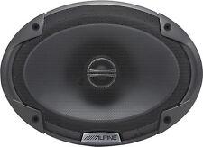 "ALPINE SPE-6090 TYPE E 6""X9"" CAR SPEAKERS AUDIO  2-WAY COAXIAL"