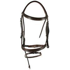 Horseware Amigo Deluxe morso-Brown-briglie