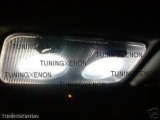Kit 12 led blanc xenon pour plafonnier avant alfa 147