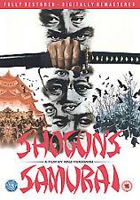 Shogun's Samurai DVD Sonny Chiba Etsuko Shihomi Original UK Rele New Sealed R2