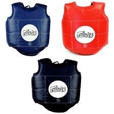 FAIRTEX PV1 BODY GUARDS PROTECTOR PADS MUAY THAI BOXING MMA Sporting