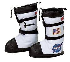 Aeromax  Kid Childs Astronaut NASA Space boots Costumes  white SMALL/ MEDIUM NEW