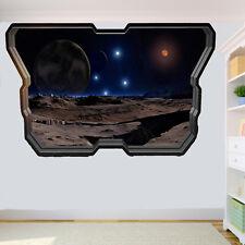 Space Stars Planets Sky Galaxy Wall Sticker Art 3D Poster Decal Mural Decor RJ7
