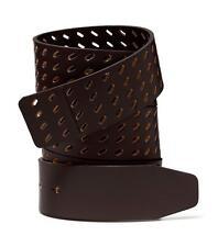 Oakley Genuine Leather Mens Premium Belt Straps Brown One size retail $60.00