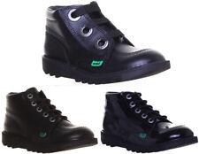 Kickers kick hi largity junior bottes en cuir femmes tailles