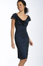 Tadashi Shoji Rosette Shutter Pleat Sheath Dress ( 4)
