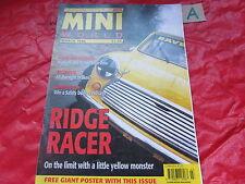 MINI WORLD MAGAZINE March 1996 RIDGE RACER HYBRID HATCHBACK ITALIAN JOB 1.3i GT