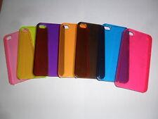 IPhone 4 Rigido Chiaro Cover Trasparente Nuovo UK Venditore