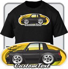 Custom Car Art T-shirt Cartoon Toy 78-87 Buick Regal t-type GNX Grand National