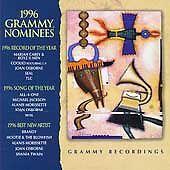 1996 Grammy Nominees (CD) Seal, TLC, Michael Jackson, Mariah Carey, Brandy GREAT