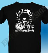 Funk T-Shirt Soul Jazz Funky 70's Rare Groove Fusion Mens Dance  L3XL 4XL 5XL