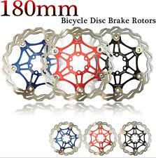 """Bicycle Mountain Bike MTB DH Brake Float Brake Discs Sprocket 180mm 6 """" NEW"""