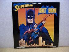 World 's Finest (Superman/Batman) 16-months Calendar 1990 (USA)