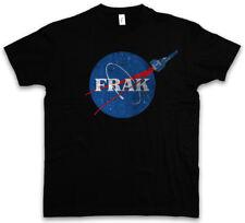 FRAK ROCKET T-SHIRT Battlestar Series Galactica Fun Symbol Logo Company Sign