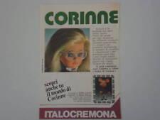 advertising Pubblicità 1975 ITALOCREMONA CORINNE