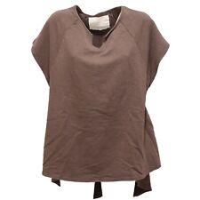 2730R maglia uomo HAPPINESS BASIC cotone pesante marrone t-shirt men
